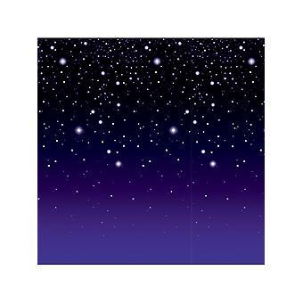 Tähtikirkas yö taustaa