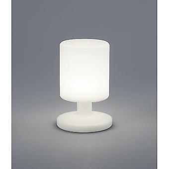 Trio d'éclairage lampe de Table en plastique blanc moderne de Barbade