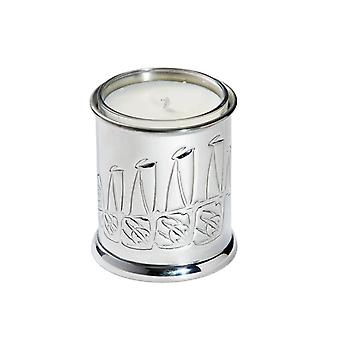 Knox Embossed Pewter Candle Votive