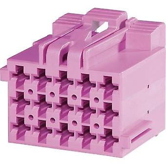 TE Connectivity Socket enclosure - cable J-P-T Total number of pins 15 Contact spacing: 5 mm 1-967623-2 1 pc(s)