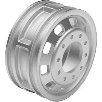ScaleDrive 1:14 HGV Felgen Kunststoff Euro aussehen Silber 1 Paar