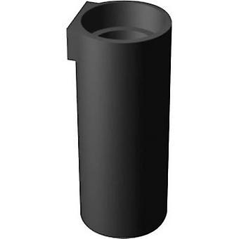 إشارة بناء DAH50060 الصمام فاصل 1x الأسود مناسبة لLED 5 ملم