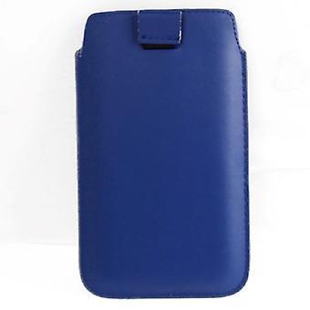 Handyhülle Tasche Slide Hülle Blau
