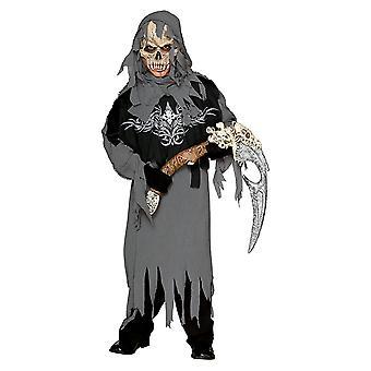 Grim Reaper Sensenmann Tod Kostüm Kinderkostüm Halloween