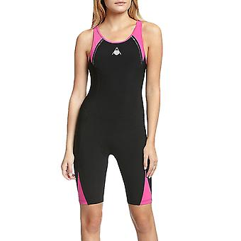 Aqua Sphere Womens Swimmimg Swim One Piece Triathlon Wet Suit Costume - Black