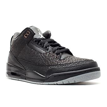الهواء الأردن 3 الرجعية 'أسود الوجه'-315767-001-أحذية