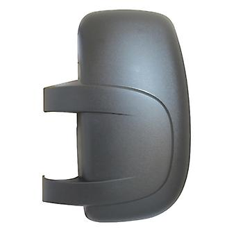 Left Passenger Side Mirror Cover (black grained) For OPEL MOVANO Combi 2003-2010
