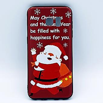 For Samsung S7 Edge pouch-Christmas-Santa Claus happiness