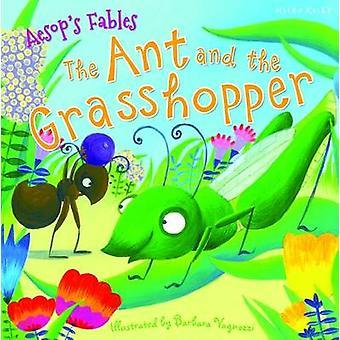 Aesops favole la formica e la cavalletta da Miles Kelly