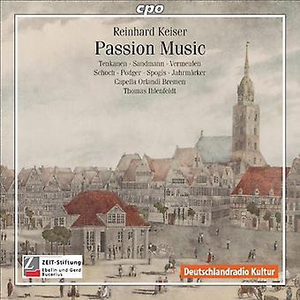R. Keiser - Reinhard Keiser: Passion Music [CD] USA import