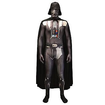 Star Wars Darth Vader Adult Unisex Zapper Cosplay Costume Digital Morphsuit - Large - Multi-Colour (MLZDVL-L)