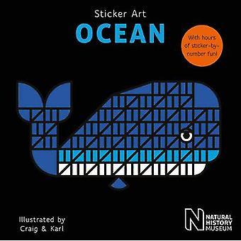 Klistermärke konst Ocean av Naturhistoriska museet - Craig & Karl - 97818478
