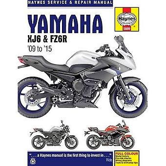 Yamaha XJ6 Service et réparation manuel 2009-2015