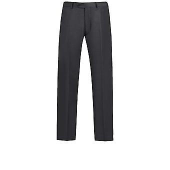 Dobell miesten Charcoal Suit housut regular fit