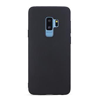 Schwarze minimalistische Hülle für Samsung Galaxy S9 +