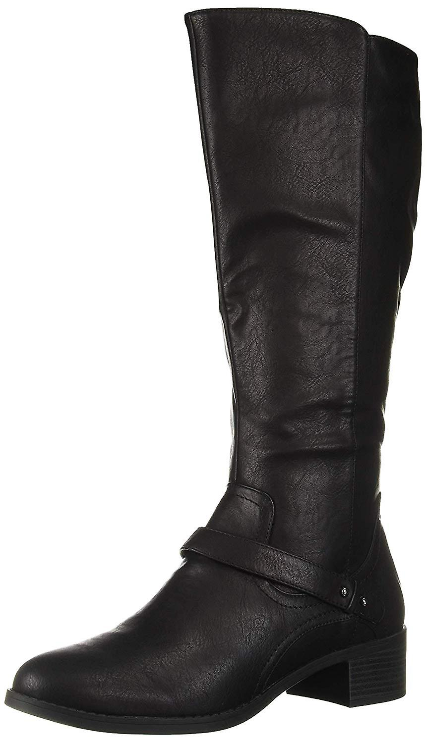 Easy Street Womens 30-9556 Almond Toe Knee High Riding Boots dwCpN