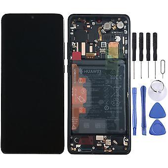 Huawei afficher unité LCD + châssis pour le P30 Pro Service Pack 02352PBT noir / noir neuf