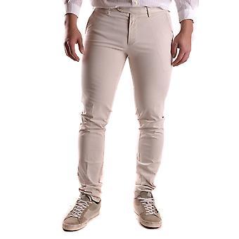 Gant Ezbc144034 Uomini's Pantaloni di cotone bianco