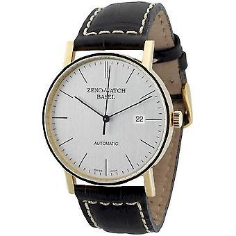 Zeno-horloge mens watch Bauhaus automatische 18 ct gouden 4636-GG-i3