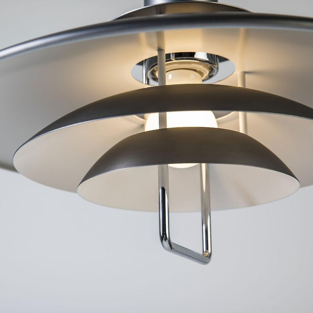 BELID Primus II 430mm Rise And Fall Pendant Light In Grey Oxide
