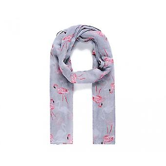 Catherine Lansfield femmes/dames flamant rose foulard imprimé