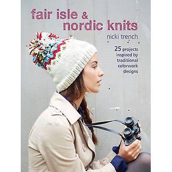Fair Isle & Nordic Pulls/Gilets - 25 projets inspirés par Colorwo traditionnel