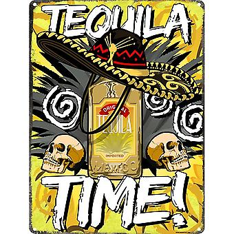 Grindstore Tequila Time Tin Sign