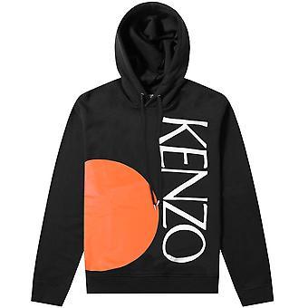 Kenzo logo Colorblock hoodie
