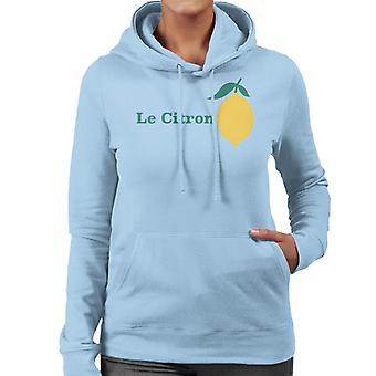 Le Citron The Lemon Women's Hooded Sweatshirt