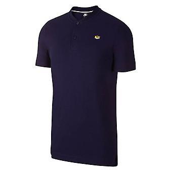 2019-2020 Тоттенхэм Nike Аутентичные Большого шлема Поло рубашка (черный)