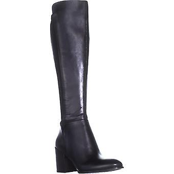 Marc Fisher Womens Lacole Leder geschlossene Zehe Mode kniehohe Stiefel
