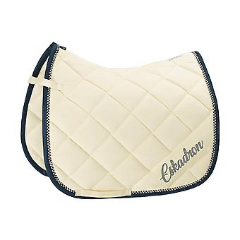 Eskadron Classic Sports Velvet Crystal Saddlecloth - Blanc