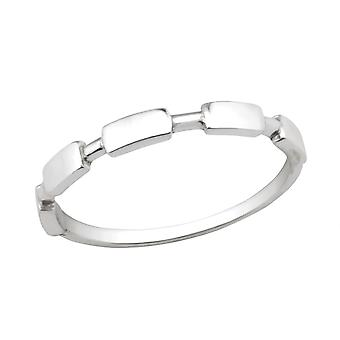 Stackable - 925 Sterling Silver Plain Rings - W30620x