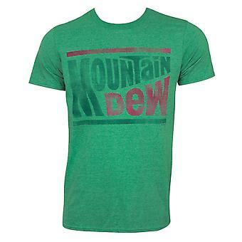 Mountain Dew Green Tee Shirt
