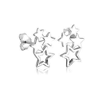 Elli oorbellen vrouwen kwab in zilver 925 0310391011