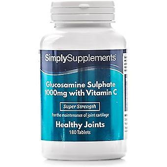 Glucosamine-1000mg-vitamine-c-comprimés