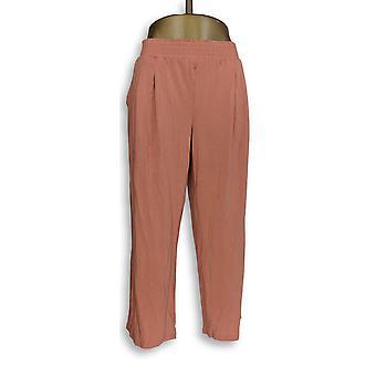 Noen kvinner ' s Petite Lounge bukser, sove shorts LP koselig strikk oransje A347173