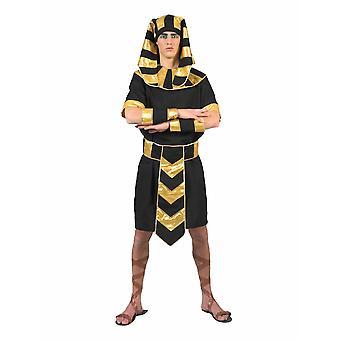 Farao mäns kostym egyptiska solguden mäns kostym