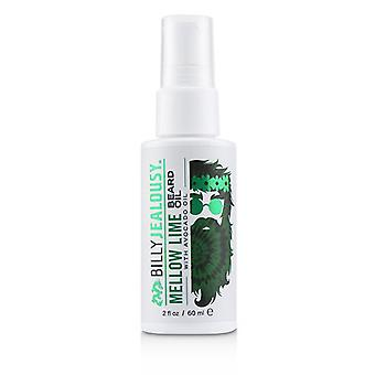 Billy Jealousy Mellow Lime Beard Oil With Avocado Oil - 60ml/2oz