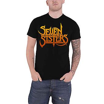 Seven Sisters T Shirt Band Logo Highways of the Night new Official Mens Black