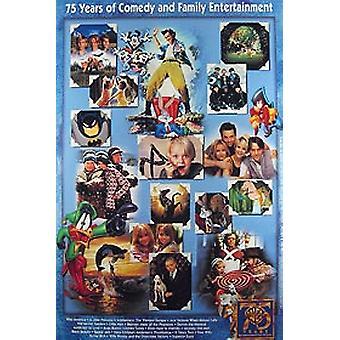 Poster annuncio video/dvd originale della Warner Bros 75Th Anniversary (Video)