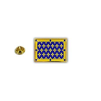 Pine PineS PIN rinta nappi PIN-apos; s metalli Broche Papillon Papillon Flag Ardeche Ranska