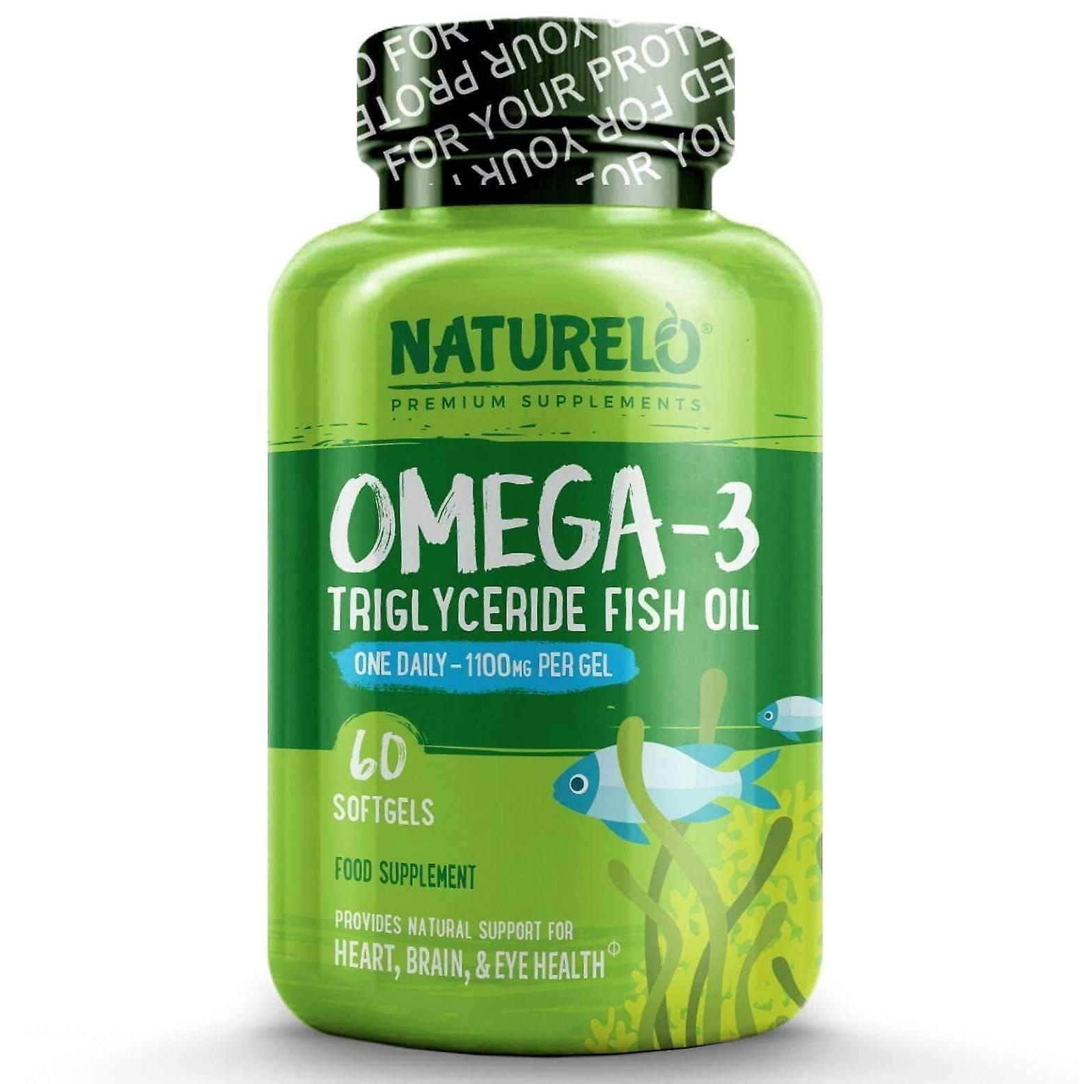 Premie omega-3 visolie - 1100 mg triglyceride - een een dag
