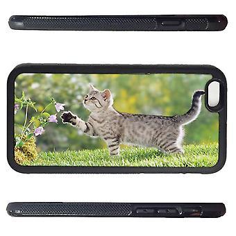 iPhone 6 Schale mit Holz Bauernhof Kätzchen Bild Drucken