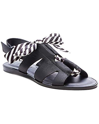 1.STATE Womens 1s-Teena Leather Open Toe Casual Slingback Sandals