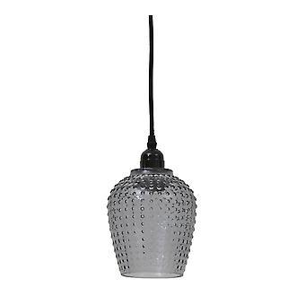Light & Living Hanging Pendant Lamp D13x24cm Berdina Smoke