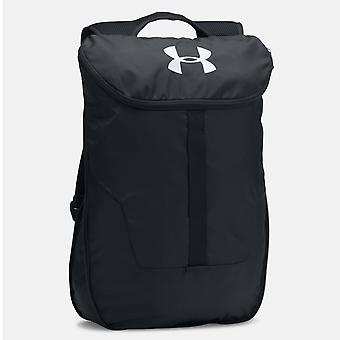 Under Armour Expandable Sackpack Backpack Sports Bag Black