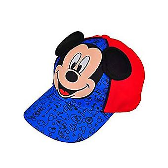 Baseball Cap - Disney - Mickey Mouse Red/Royal Kids/Boys New 833183