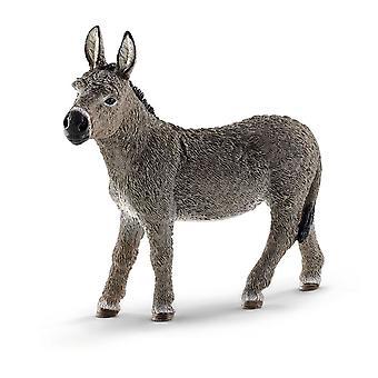 Schleich gård verden Donkey Toy figur (13772)