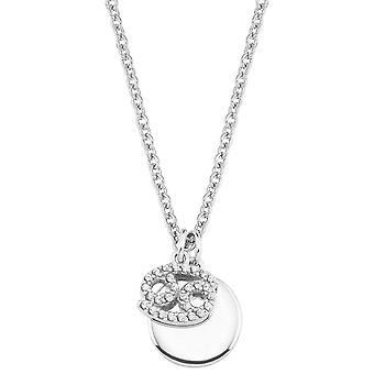 s.Oliver Jewel Women's Necklace Silver 2026944 Zodiac Cancer